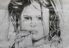A child's artwork
