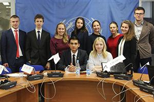 Participants of the Model UN