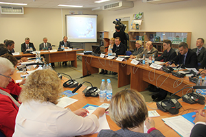 """""""Round table"""" on the issues of forced migration"""