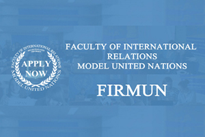 Apply now for FIR MUN!