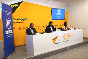 Press Conference at Sputnik Belarus